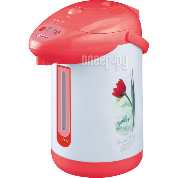 Термопот Sakura SA-353WR White-Red