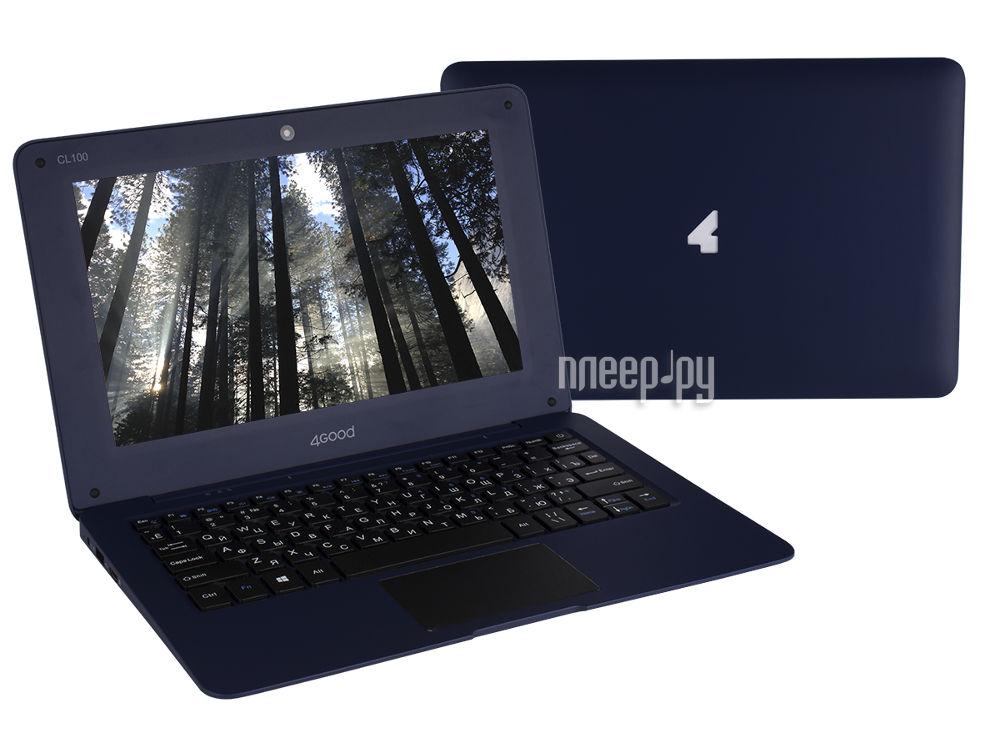 Ноутбук 4Good CL100 (Intel Atom Z3735F 1.3 GHz / 2048Mb / 32Gb / Intel HD Graphics / Wi-Fi / Bluetooth / Cam / 10 / 1024x600 / Windows 10)