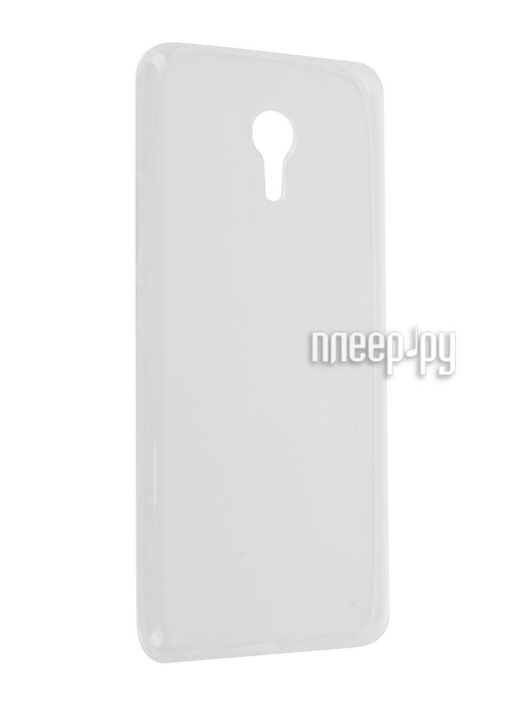 Аксессуар Чехол-накладка Meizu MX6 Krutoff Transparent 11766