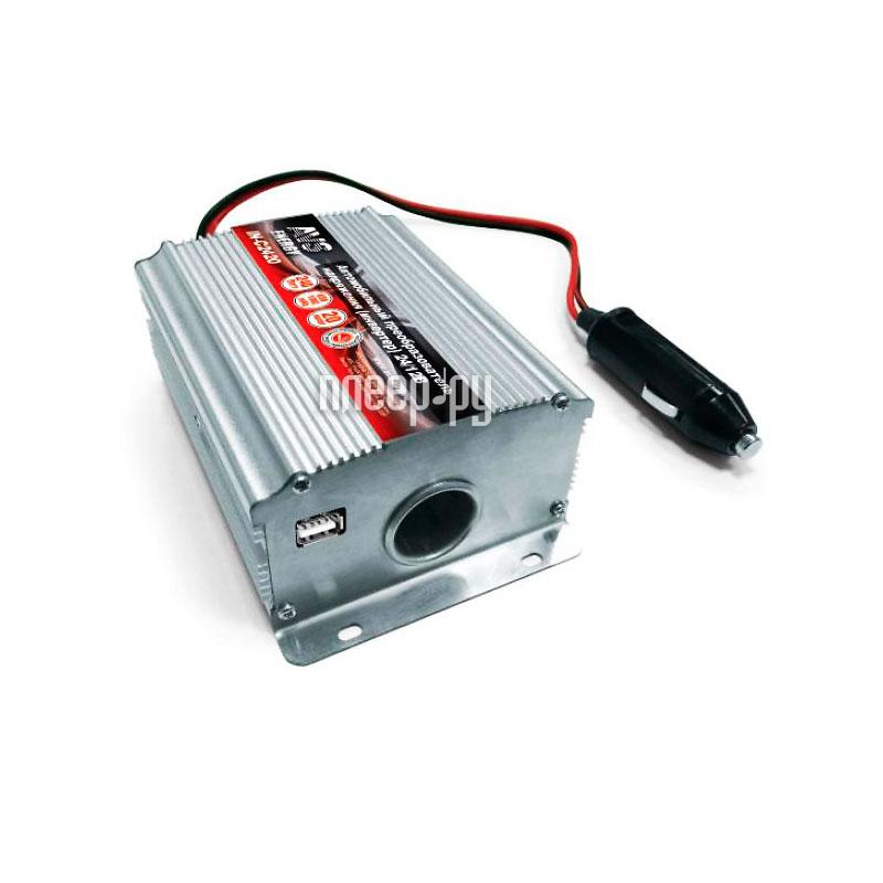 Автоинвертор AVS IN-2420USB (20A) с 24В на 12В A80979S