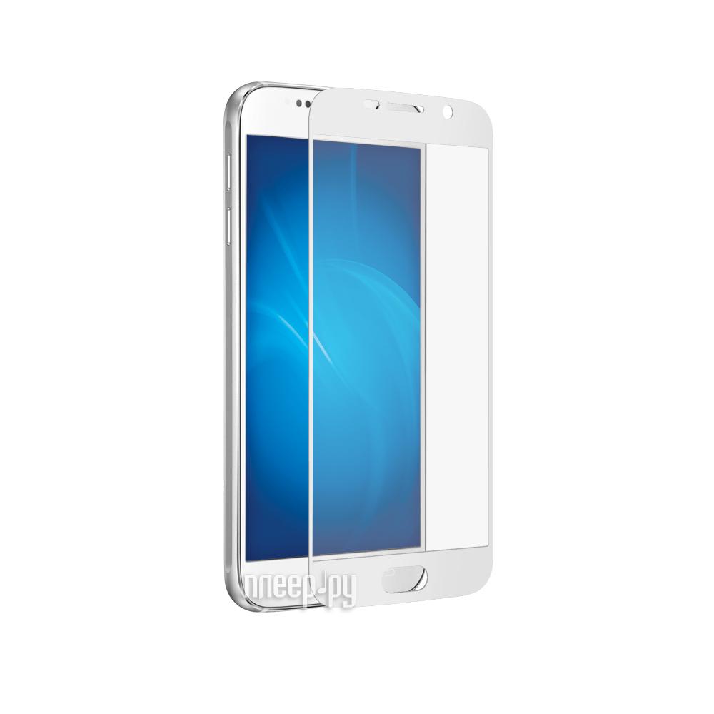 Аксессуар Защитное стекло Samsung Galaxy S7 CaseGuru 3D 0.3mm White 87006