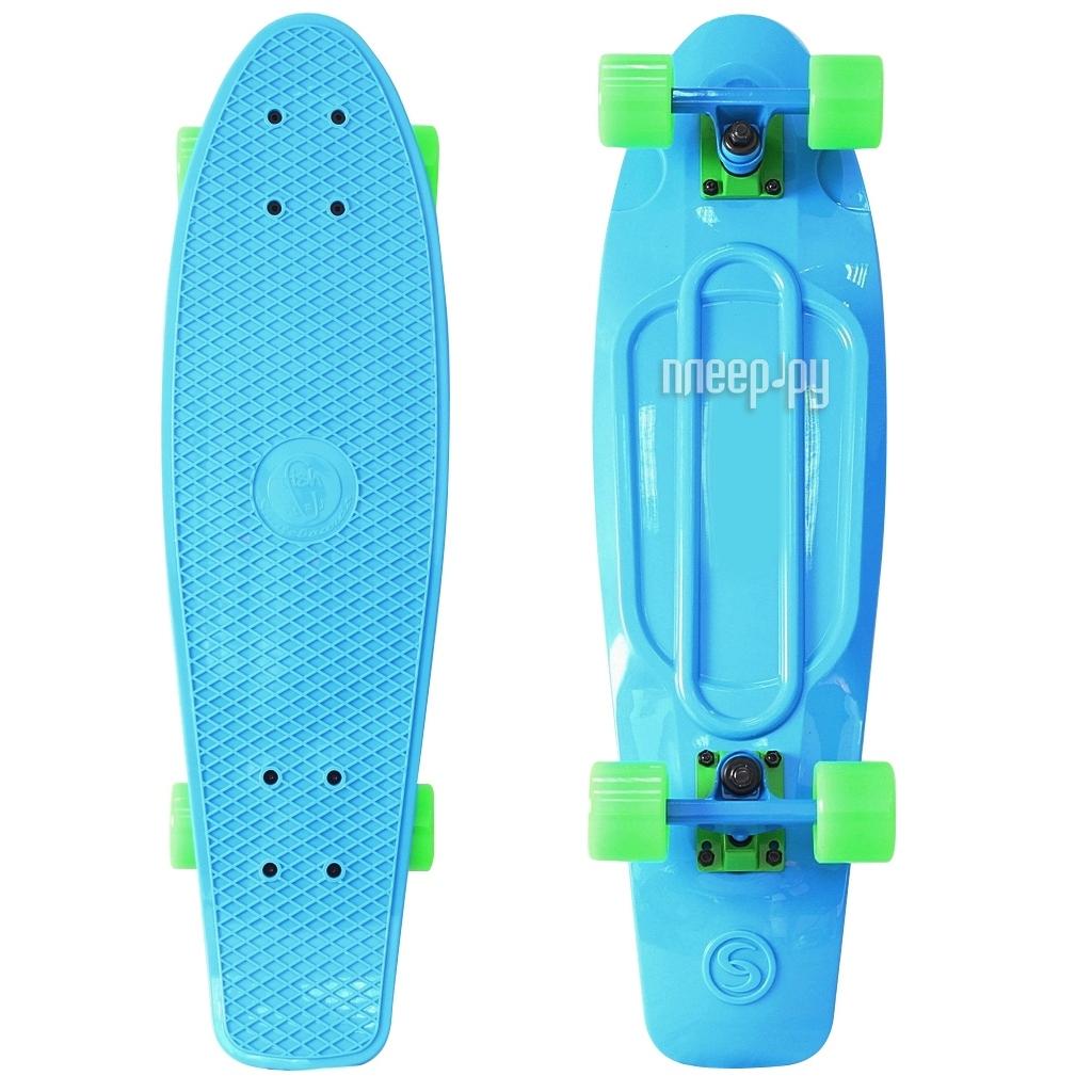 Скейт Y-SCOO Fishskateboard 22 Blue-Green 401-B