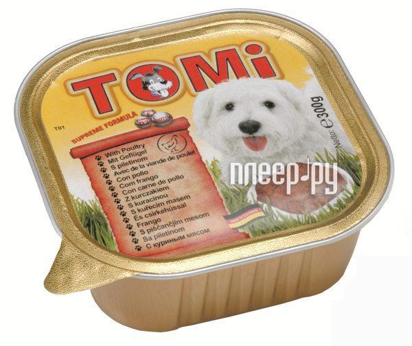 Корм TOMI Птица 300g 133.008 для собак