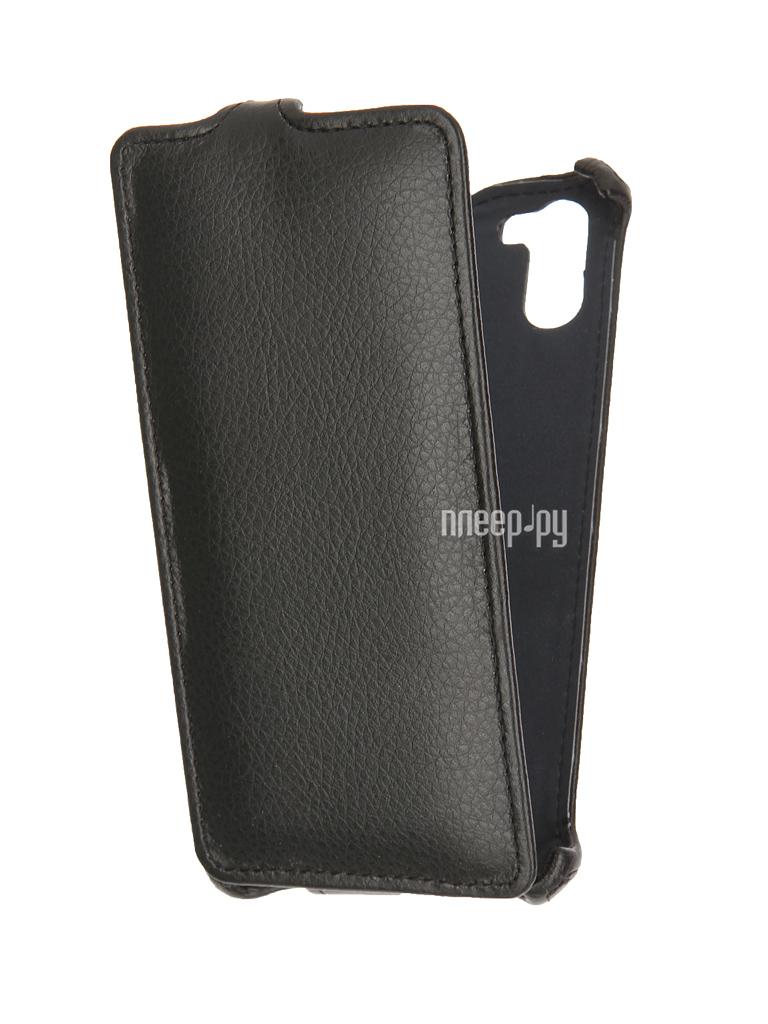Аксессуар Чехол Ginzzu S5140 Gecko Black GG-F-GINS5140-BL купить