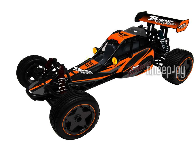 Радиоуправляемая игрушка KidzTech Top Maxx 1:10 Пантера Black-Orange 84081