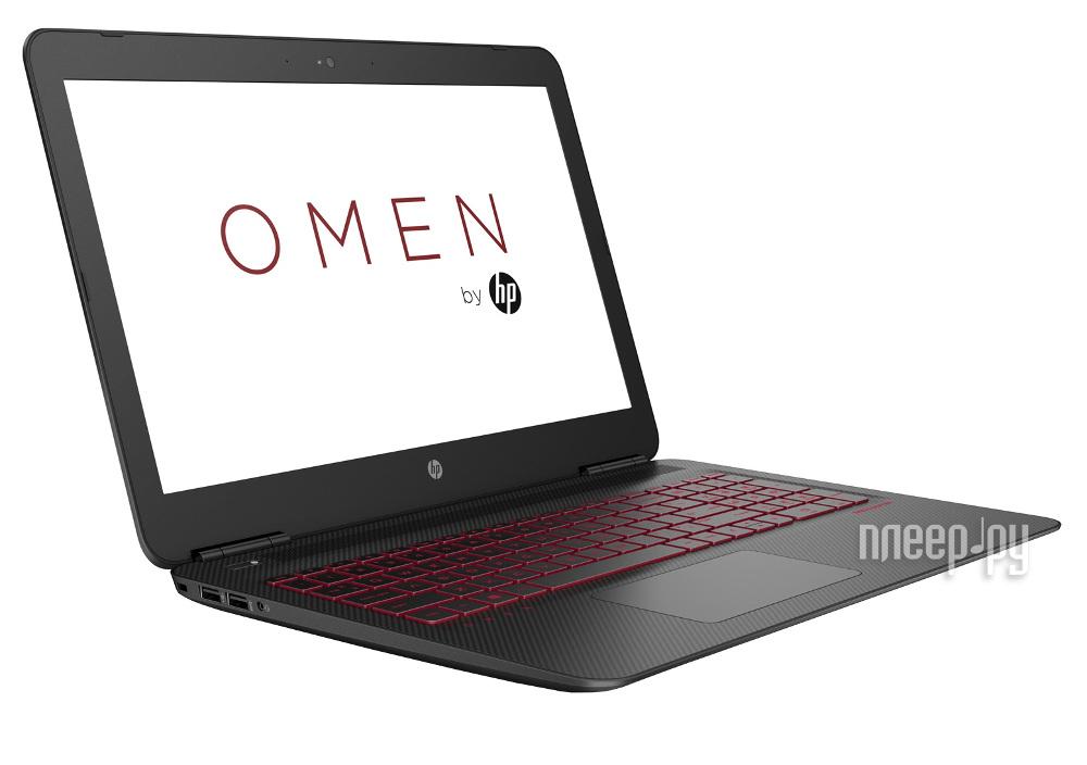 Ноутбук HP Omen 15-ax006ur X5E28EA (Intel Core i5-6300HQ 2.3 GHz / 8192Mb / 1000Gb / nVidia GeForce GTX 960M 2048Mb / Wi-Fi / Cam / 15.6 / 1920x1080 / Windows 10 64-bit)