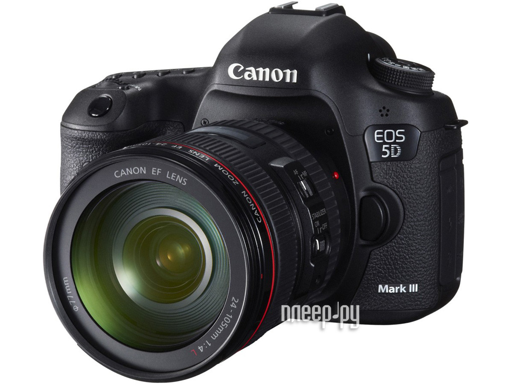 Фотоаппарат Canon EOS 5D Mark III Kit EF 24-105 L IS USM*