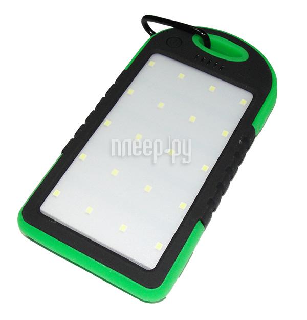 Аккумулятор GlobusGPS GL-PB2 5000mAh Black Green