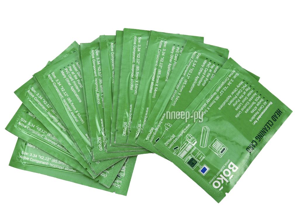 Аксессуар Boko BCP020 Простые чистящие карты с пропиткой