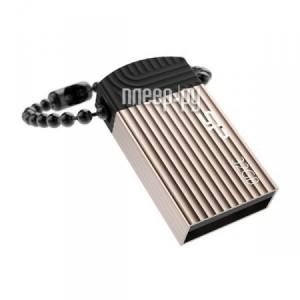 Купить USB Flash Drive 32Gb - Silicon Power Touch T20 Champagne SP032GBUF2T20V1C