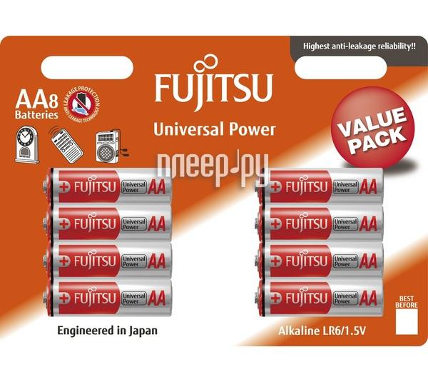 Батарейка AA - Fujitsu LR6(8B)FU-W-FI 84082 (8 штук)