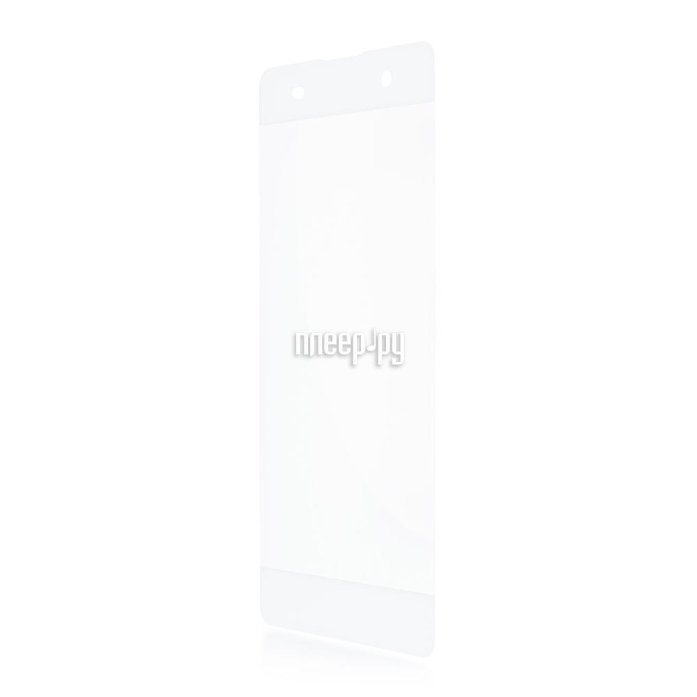 Аксессуар Защитное стекло Sony Xperia XA BROSCO 0.3mm White XA-3D-GLASS-WHITE