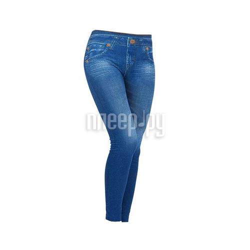 Леггинсы для коррекции фигуры Caresse Jeans Slim Jeggings S-M