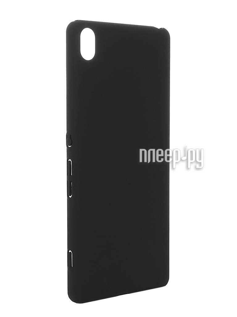 Аксессуар Чехол Sony Xperia XA BROSCO Black XA-4SIDE-SOFTTOUCH-BLACK