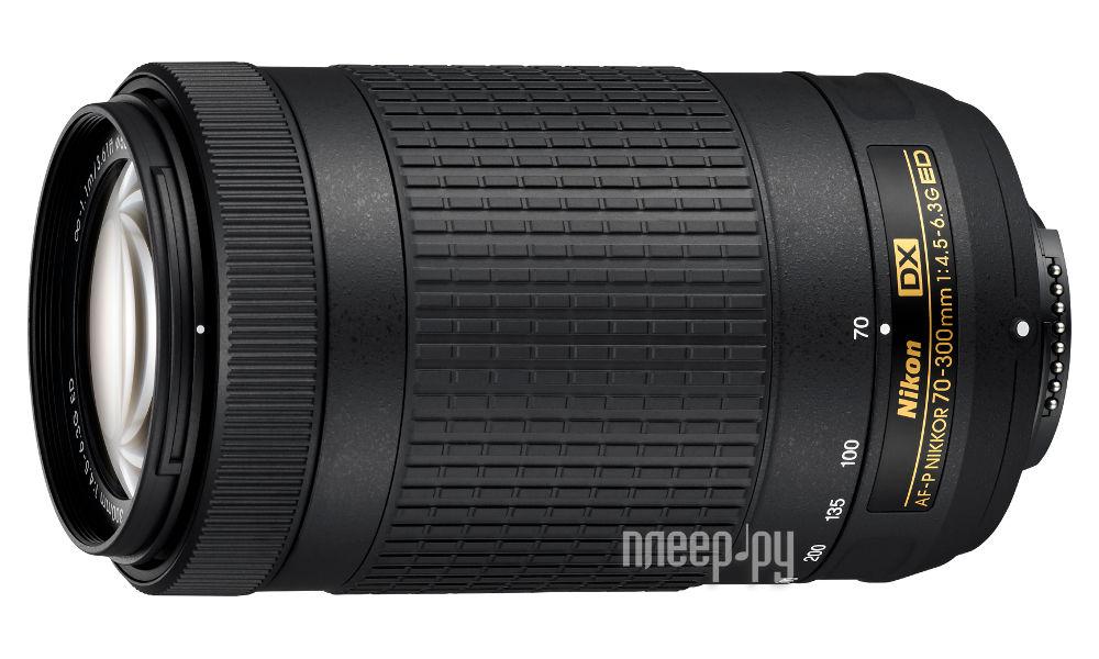 Объектив Nikon AF-P DX Nikkor 70-300 mm F / 4.5-6.3G ED за 12441