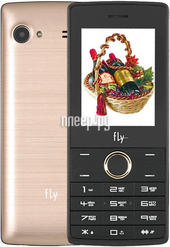 Сотовый телефон Fly FF244 Champagne