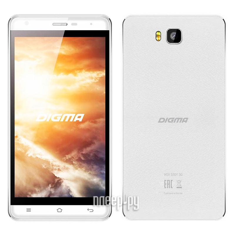 Сотовый телефон Digma VOX S501 3G White купить