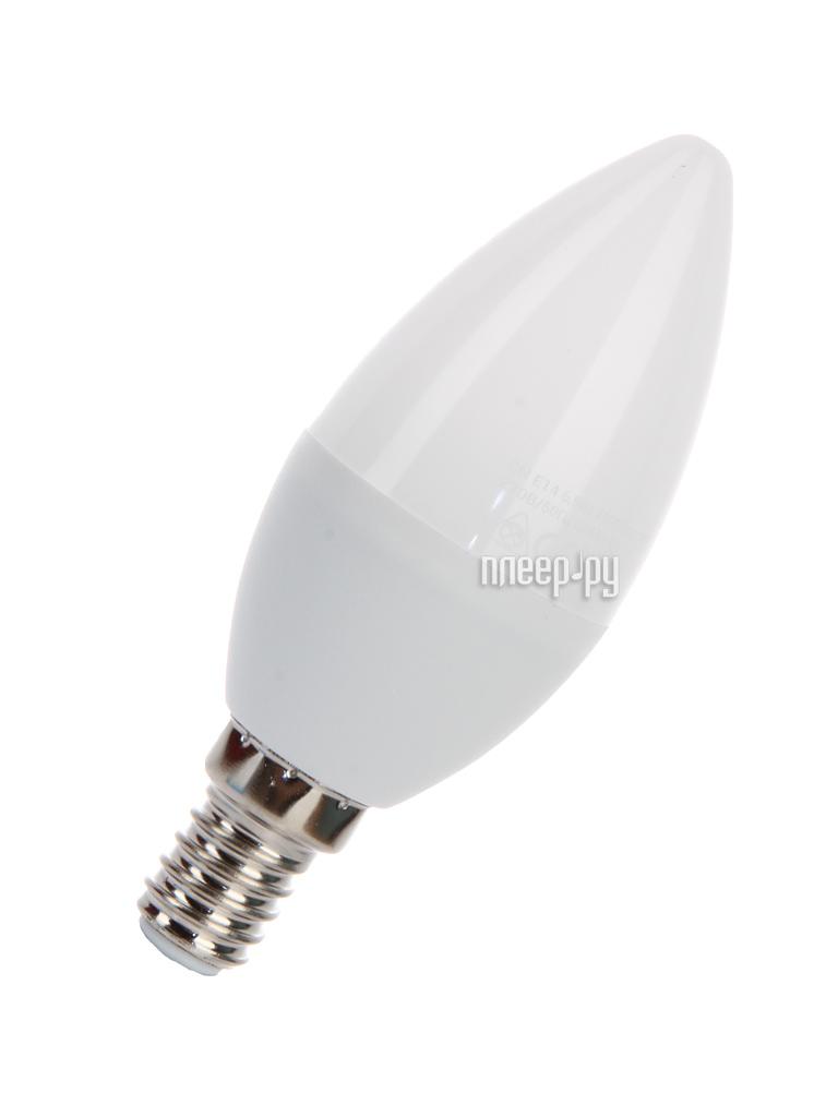 Лампочка Космос Экономик LED CN 6.5W 220V E14 4500K LkecLED6.5wCNE1445
