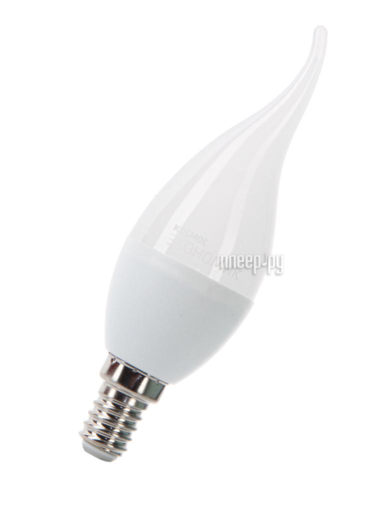 Лампочка Космос Экономик LED CW 6.5W 220V E14 3000K LkecLED6.5wCWE1430