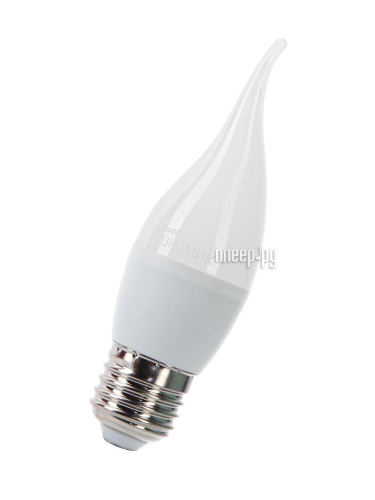 Лампочка Космос Экономик LED CW 6.5W 220V E27 3000K LkecLED6.5wCWE2730