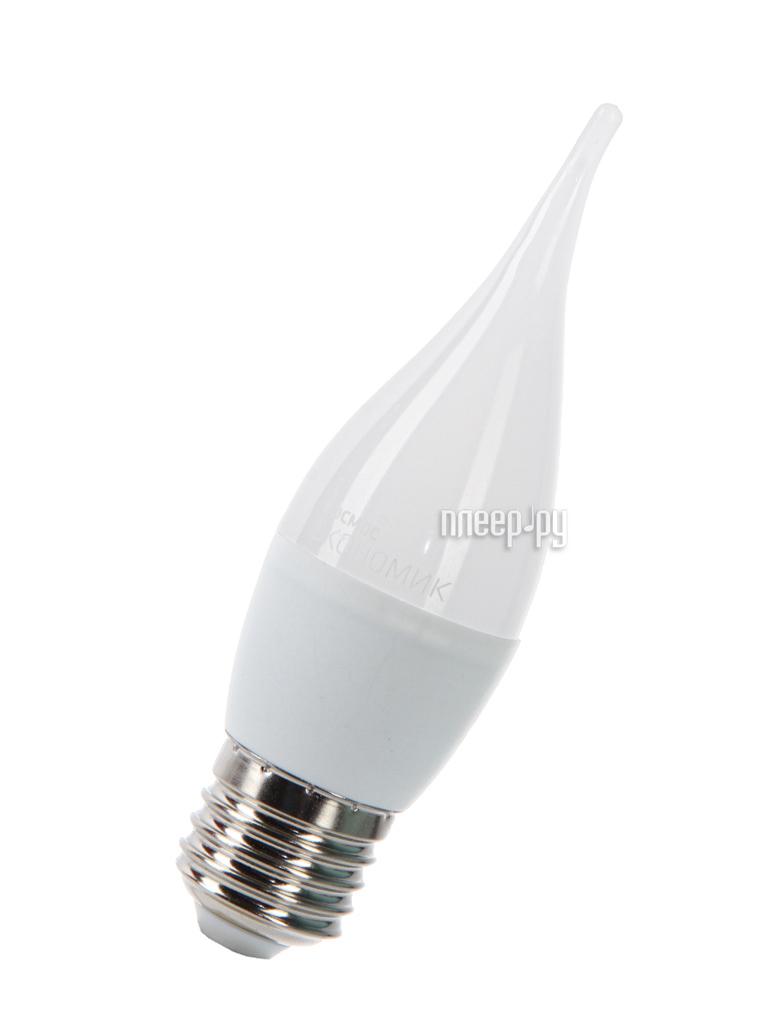 Лампочка Космос Экономик LED CW 6.5W 220V E27 4500K LkecLED6.5wCWE2745