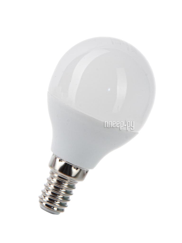 Лампочка Космос Экономик LED GL45 6.5W 220V E14 4500K LkecLED6.5wGL45E1445