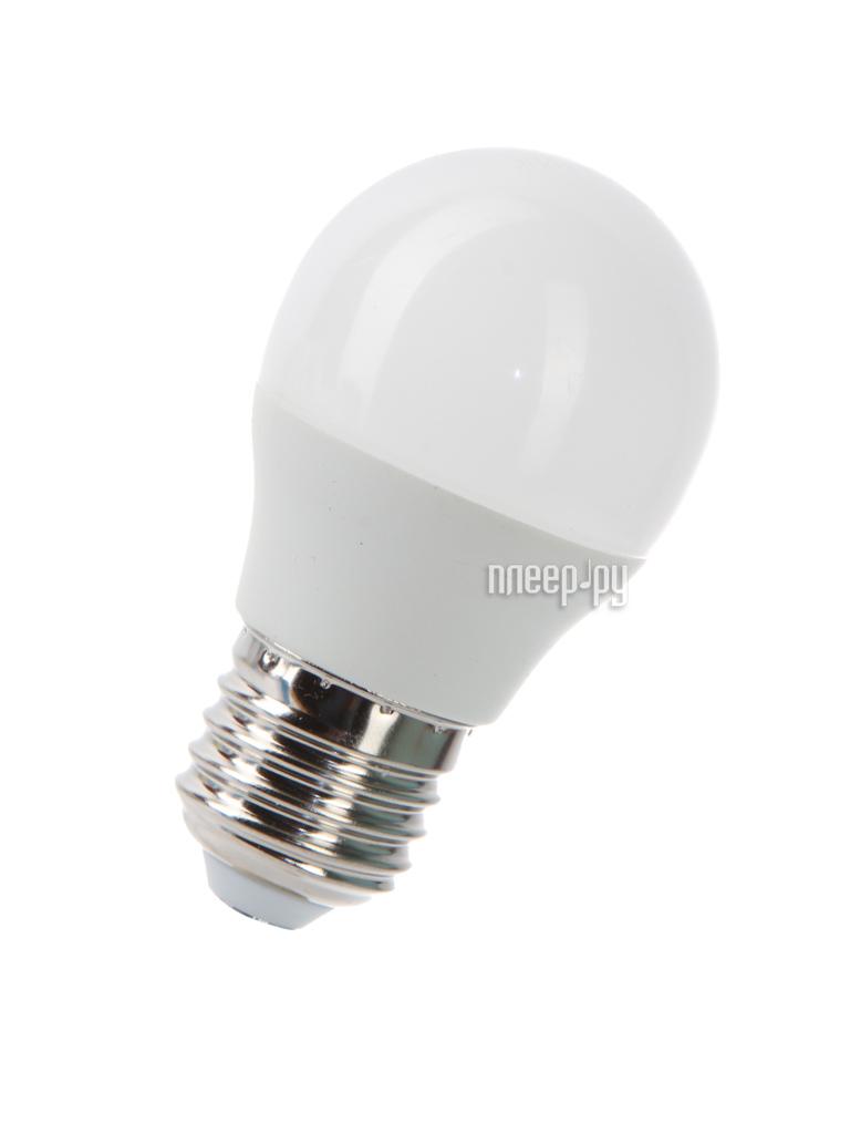 Лампочка Космос Экономик LED GL45 7.5W 220V E27 4500K LkecLED7.5wGL45E2745
