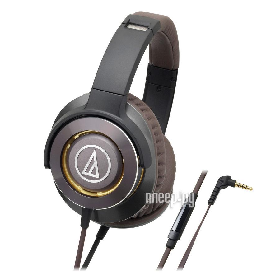 Гарнитура Audio-Technica ATH-WS770iS Gun Metal