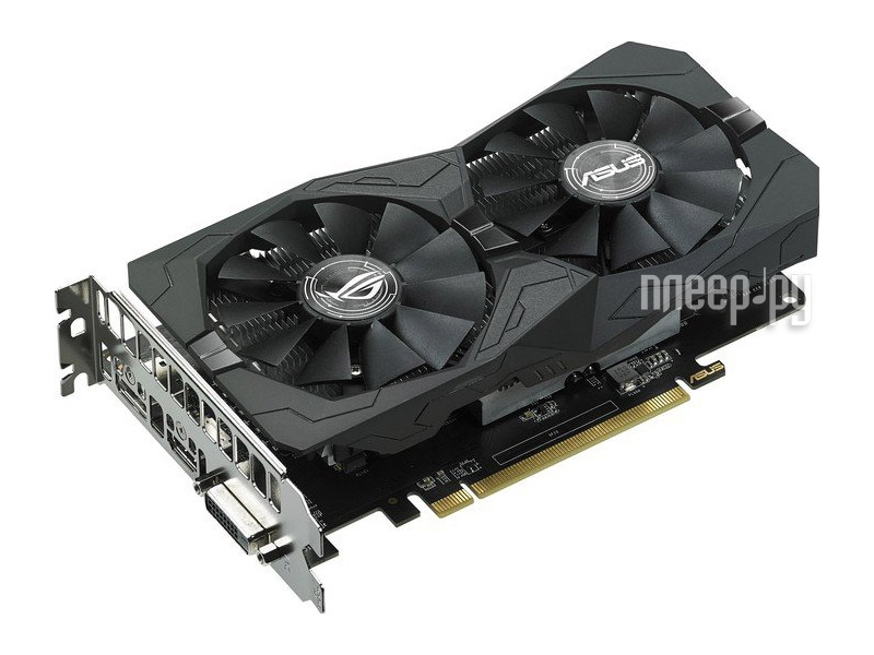 Видеокарта ASUS Radeon RX 460 1236Mhz PCI-E 3.0 4096Mb 7000Mhz 128-bit DVI HDMI HDCP ROG STRIX-RX460-O4G-GAMING