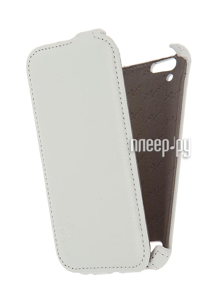 Аксессуар Чехол Lenovo A6020 Vibe K5 / K5 Plus Aksberry White