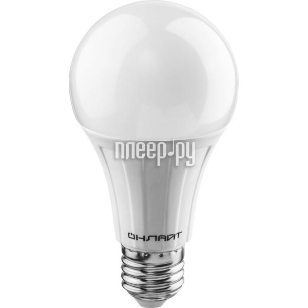 Лампочка ОнЛайт 71 682 OLL-A65-12-230-2.7K-E27
