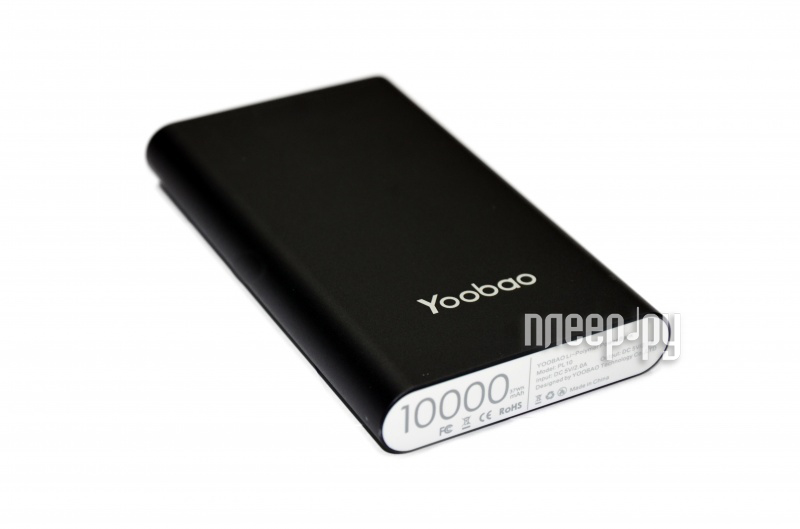 Аккумулятор Yoobao Power Bank PL10 10000mAh Black