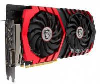 Видеокарта MSI GeForce GTX 1060 1594Mhz PCI-E 3.0 3072Mb 8108Mhz 192 bit DVI HDMI HDCP GTX 1060 GAMING X 3G