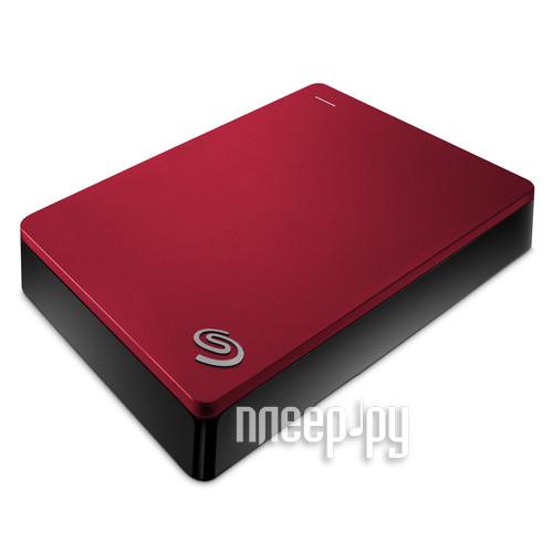 Жесткий диск Seagate Backup Plus Portable 4Tb Red STDR4000902