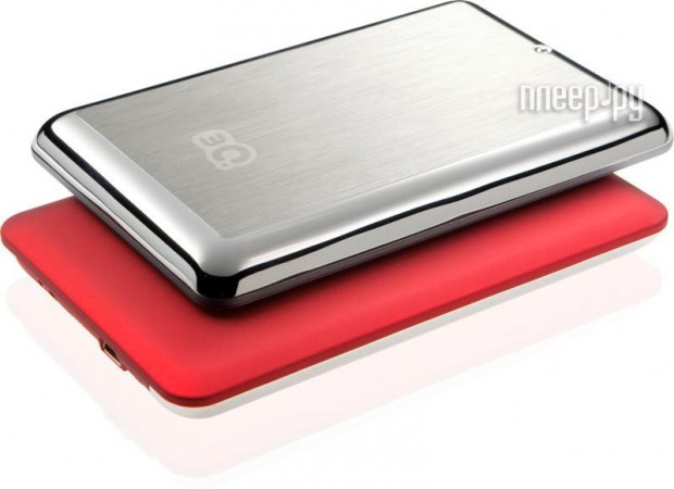 Жесткий диск 3Q Glaze Rubber Hairline 500Gb Red 3QHDD-U247H-HR500  Pleer.ru  1964.000