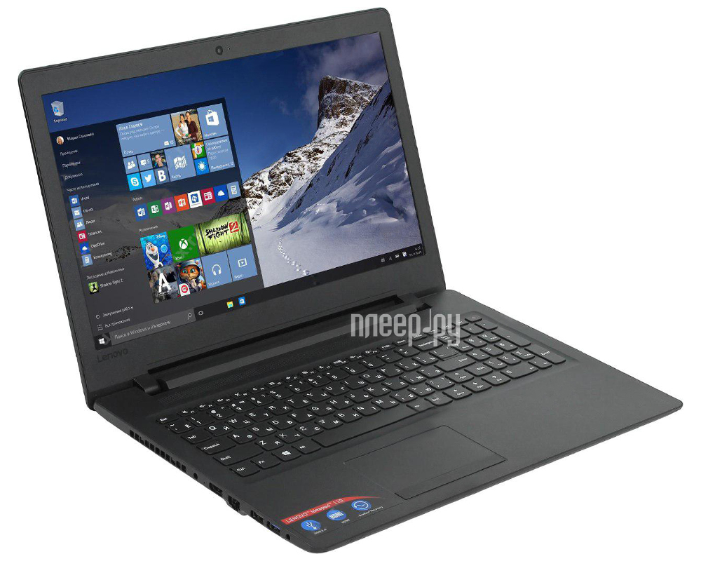 Ноутбук Lenovo IdeaPad 110-15ACL 80TJ00D7RK (AMD E1-7010 1.5 GHz / 4096Mb / 500Gb / No ODD / Integrated UMA / Wi-Fi / Bluetooth / Cam / 15.6 / 1366x768 / Windows 10)