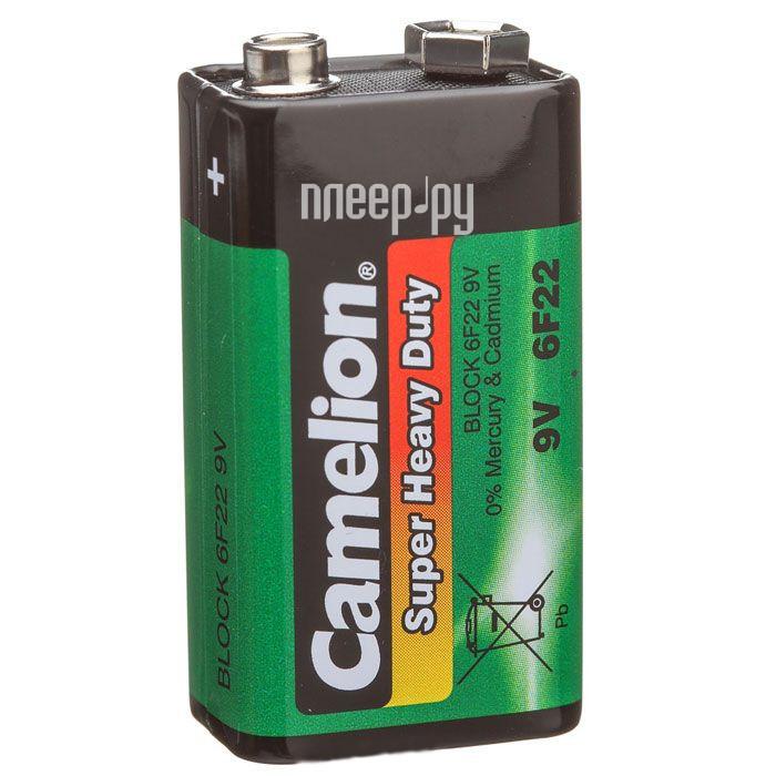 Батарейка КРОНА Camelion 6F22 SR-1 (6F22-SP1G)