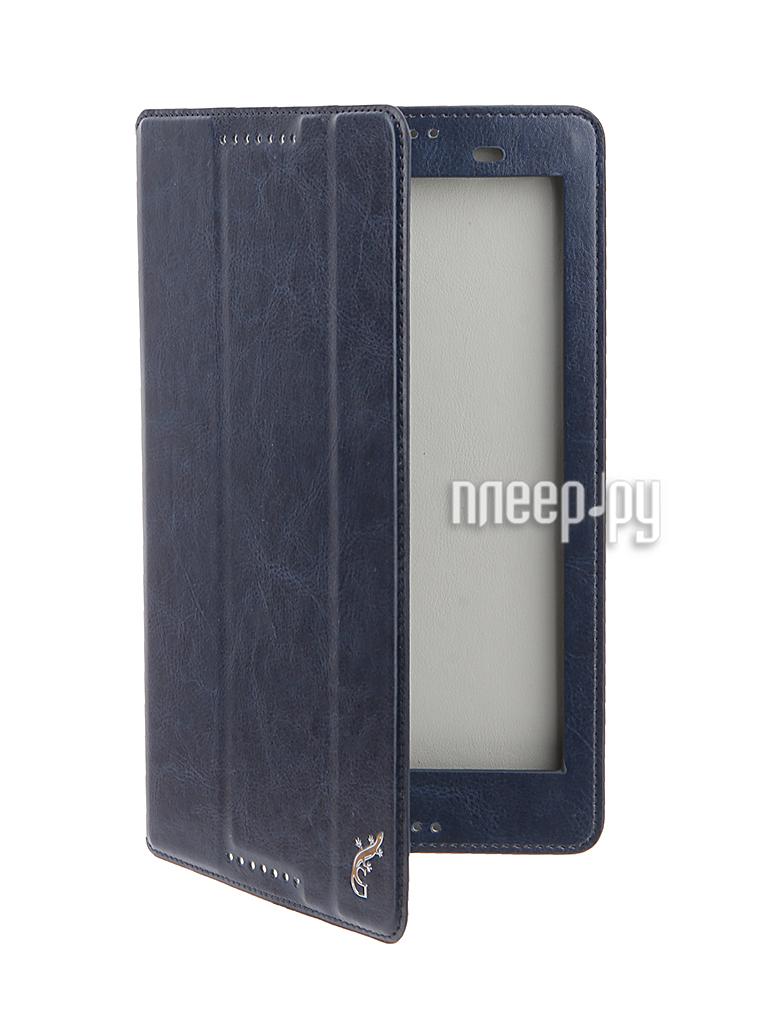 Аксессуар Чехол Lenovo IdeaTab 3 8.0 G-Case Executive Dark Blue GG-736