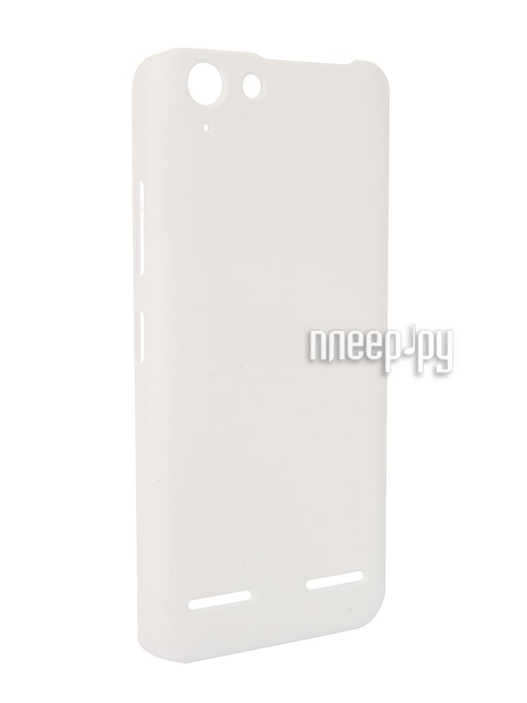 Аксессуар Чехол Lenovo Vibe K5 / K5 Plus Nillkin Frosted Shield White