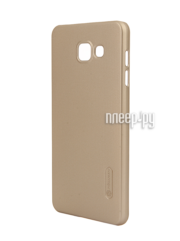 Аксессуар Чехол Samsung Galaxy A7 2016 A710 Nillkin Frosted Shield Gold за 379 рублей