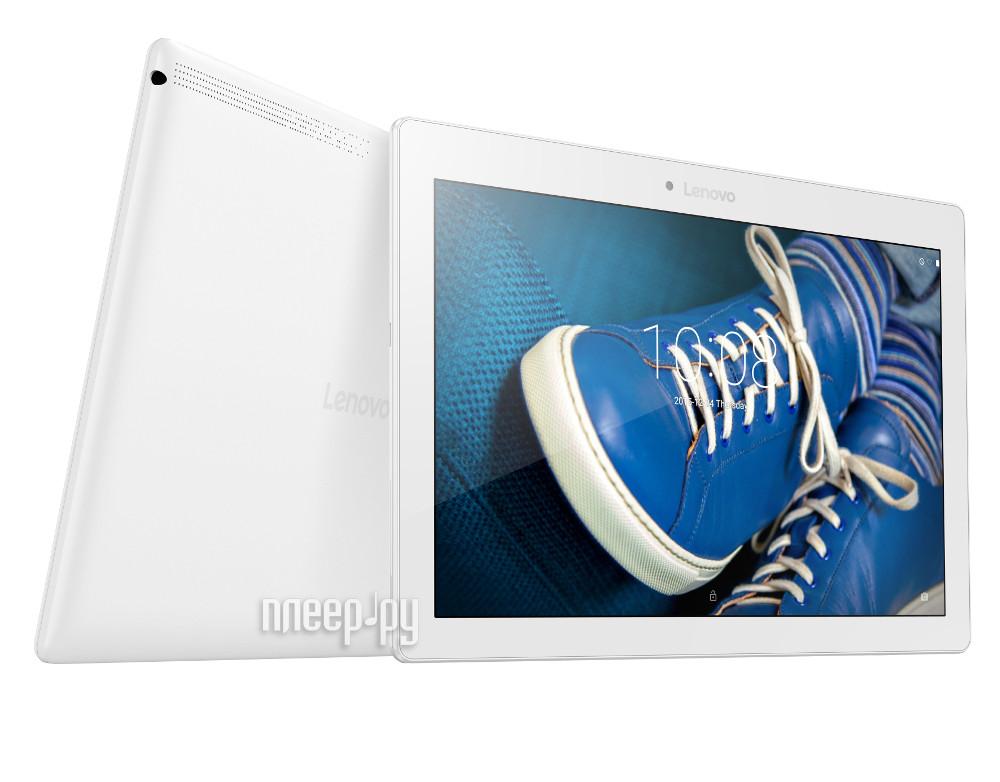 Планшет Lenovo TB2-X30L White ZA0D0108RU (Qualcomm MSM8909 1.3 GHz / 2048Mb / 16Gb / Wi-Fi / LTE / Bluetooth / Cam / 10.1 / 1280x800 / Android)