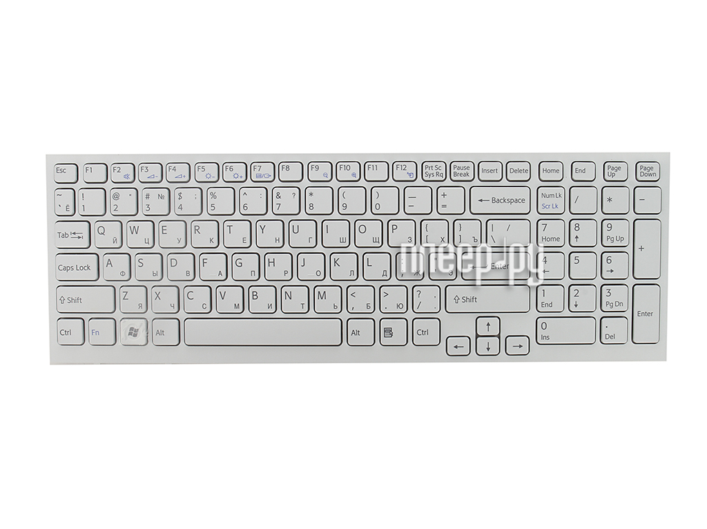Клавиатура TopON TOP-99946 для DELL Inspiron 17R N7110 / 7720 / 3721 / 5720 / 5721 / Vostro 3350 / 3450 / 3550 / 3750 / XPS17 / L702x Black