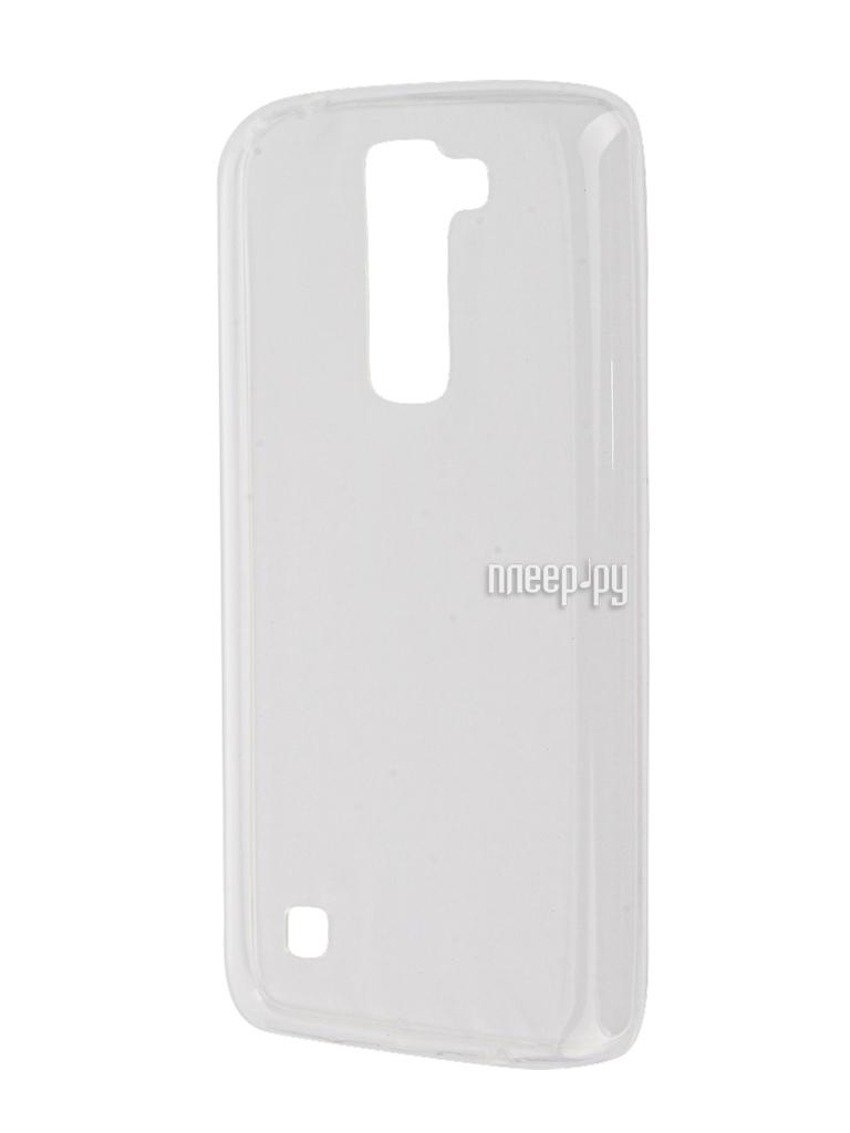 Аксессуар Чехол-накладка LG K7 X210ds Gecko White S-G-LGK7-WH
