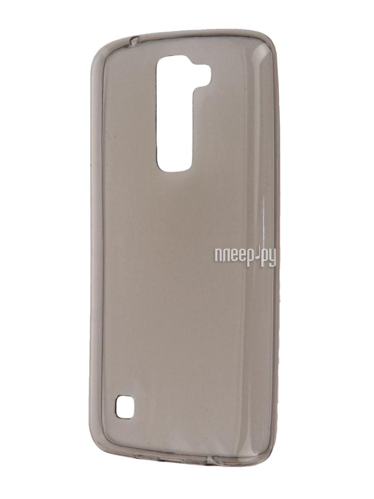 Аксессуар Чехол-накладка LG K7 X210ds Gecko Black S-G-LGK7-BL