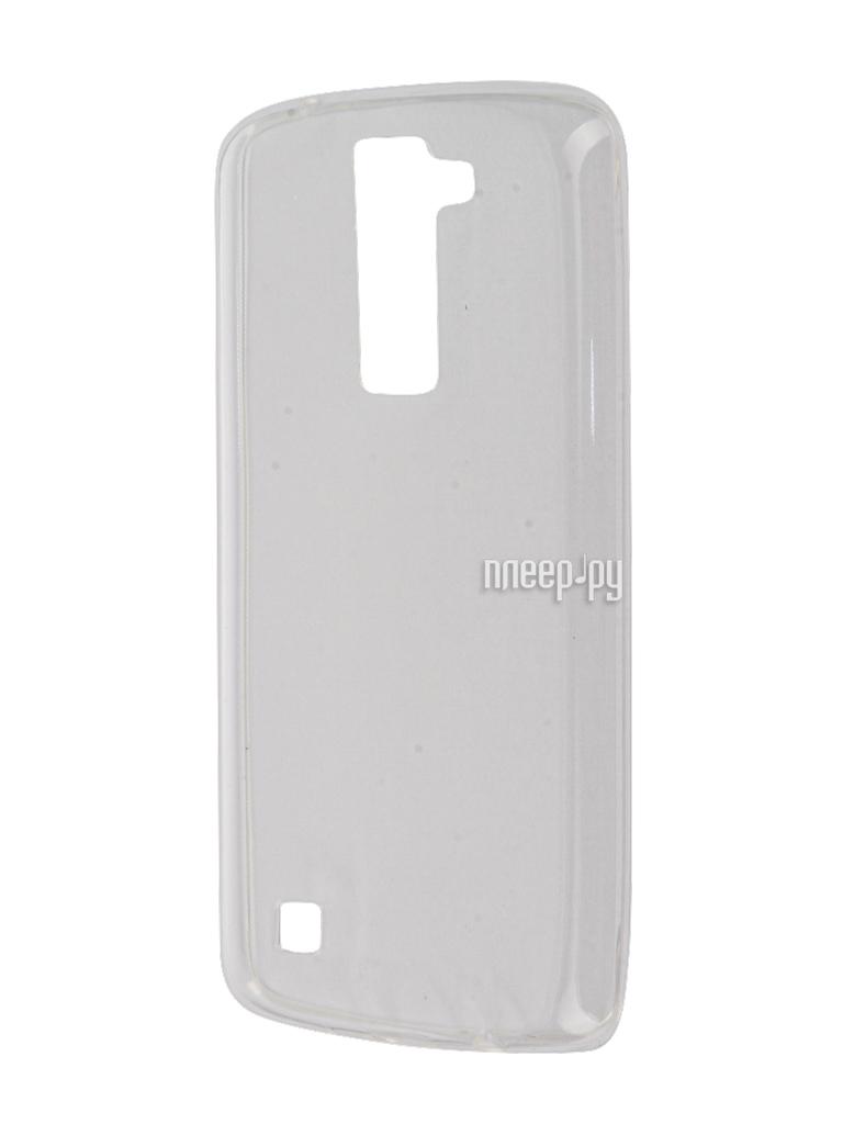 Аксессуар Чехол-накладка LG K8 K350E Gecko White S-G-LGK8-WH купить