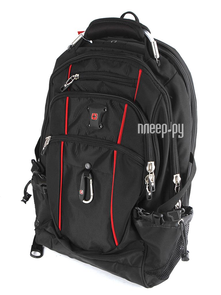 Рюкзак WENGER 6677202408 Black-Red