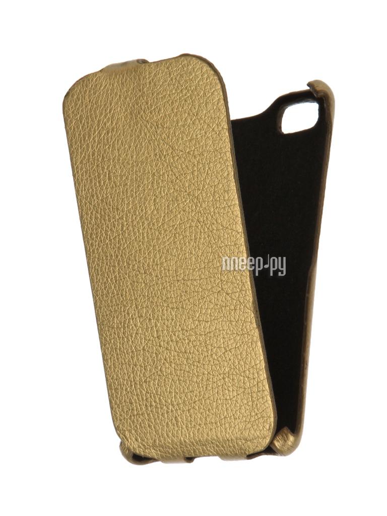 Аксессуар Чехол Xiaomi Mi4i Cojess Ultra Slim Gold за 136 рублей
