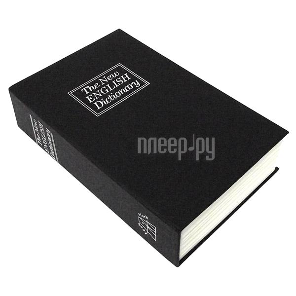 Шкатулка Эврика Сейф-книга Английский словарь Black 94792