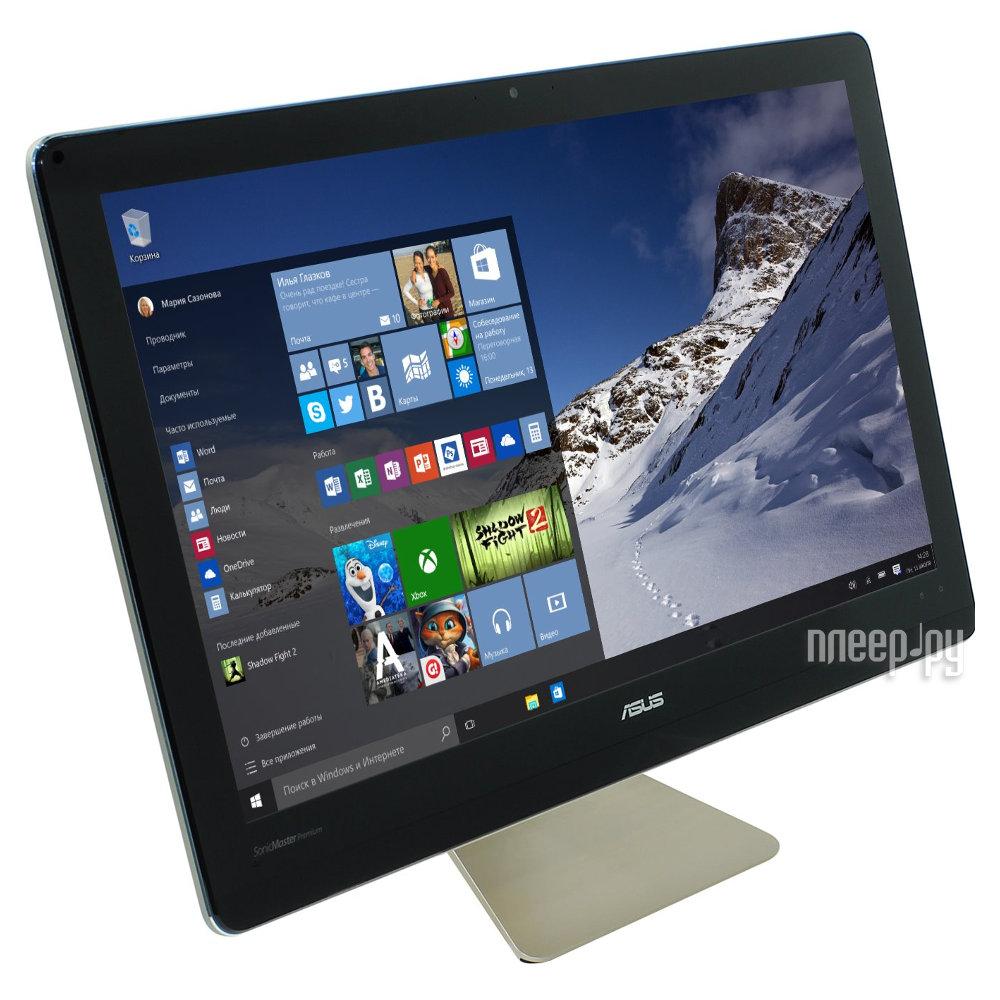 Моноблок ASUS ZEN Z220ICGK-GC051X Black 90PT01D1-M01810 (Intel Core i7-6700T 2.8 GHz / 8192Mb / 1000Gb + 128GB SSD / NVIDIA GTX 960M 2Gb / Wi-Fi / Cam / 22 / 1920x1080 / Windows)