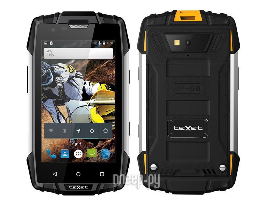 Сотовый телефон teXet TM-4083 Black-Yellow